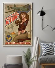 Join The US Army Air Corps Today 11x17 Poster lifestyle-poster-1