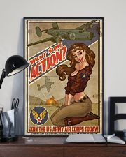 Join The US Army Air Corps Today 11x17 Poster lifestyle-poster-2