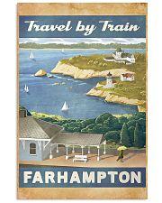 Travel By Train Farhampton 11x17 Poster front