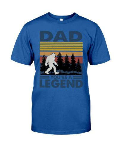 Dad You're A Legend Bigfoot