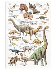 Dinosaurs Of The Jurassic Period 11x17 Poster front