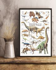 Dinosaurs Of The Jurassic Period 11x17 Poster lifestyle-poster-3