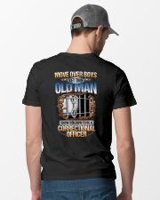 How To Be A Correctional Officer Classic T-Shirt lifestyle-mens-crewneck-back-6
