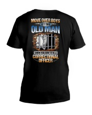 How To Be A Correctional Officer V-Neck T-Shirt thumbnail