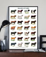 Breeds of Cattle 11x17 Poster lifestyle-poster-2