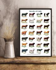 Breeds of Cattle 11x17 Poster lifestyle-poster-3