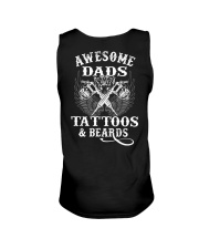 Awesome Dads Have Tattoos And Beards  Unisex Tank thumbnail