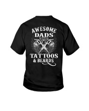 Awesome Dads Have Tattoos And Beards  Youth T-Shirt thumbnail