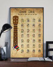 Basic Ukulele Chords Guitar 11x17 Poster lifestyle-poster-2