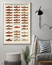 Trout Salmon And Char of North America 11x17 Poster lifestyle-poster-1
