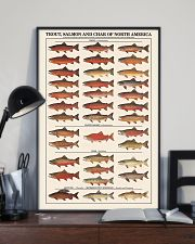 Trout Salmon And Char of North America 11x17 Poster lifestyle-poster-2