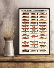 Trout Salmon And Char of North America 11x17 Poster lifestyle-poster-3