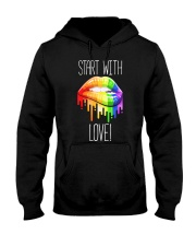 Start With Love Hooded Sweatshirt thumbnail