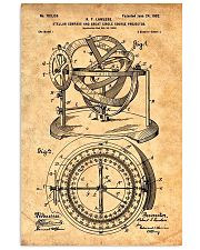 Nautical Compass Patent 11x17 Poster front