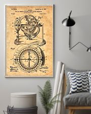 Nautical Compass Patent 11x17 Poster lifestyle-poster-1