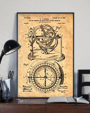 Nautical Compass Patent 11x17 Poster lifestyle-poster-2