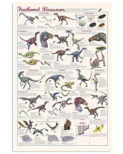 Animales Prehistóricos Dinosaurios 11x17 Poster front