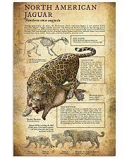 Prehistoric Animals Jaguar 11x17 Poster front