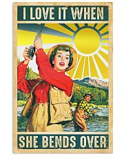 Fishing I Love It 11x17 Poster front