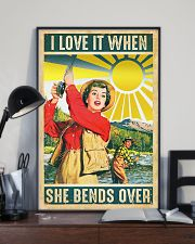 Fishing I Love It 11x17 Poster lifestyle-poster-2