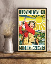Fishing I Love It 11x17 Poster lifestyle-poster-3