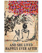 And She Lived Happily Ever After French Bulldog 11x17 Poster front