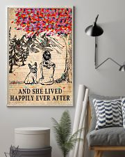 And She Lived Happily Ever After French Bulldog 11x17 Poster lifestyle-poster-1