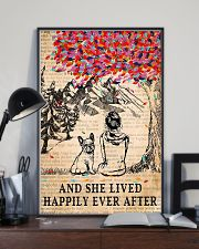 And She Lived Happily Ever After French Bulldog 11x17 Poster lifestyle-poster-2