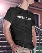 Girl Dad Classic T-Shirt lifestyle-mens-crewneck-front-5