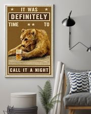 Grizzly Bear Call It A Night 11x17 Poster lifestyle-poster-1