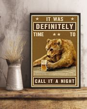 Grizzly Bear Call It A Night 11x17 Poster lifestyle-poster-3