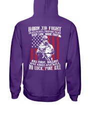 Limited Edition - Not sold in any store Hooded Sweatshirt back