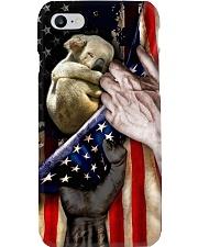 Love Koala United State Flag Phone Case i-phone-8-case