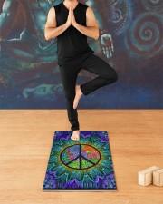 Love Hippie Yoga Mat 24x70 (vertical) aos-yoga-mat-lifestyle-03