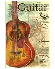 Love Guitar 11x17 Poster front
