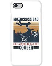Motocross Dad Like A Regular Dad But Cooler Phone Case i-phone-8-case