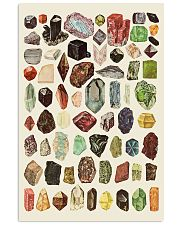 Rocks Minerals And Gems 11x17 Poster front