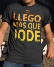 Llego Mas Que Classic T-Shirt apparel-classic-tshirt-lifestyle-28