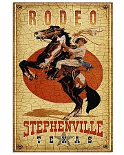Rodeo Stephenville Texas 11x17 Poster front