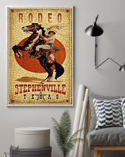 Rodeo Stephenville Texas 11x17 Poster lifestyle-poster-1