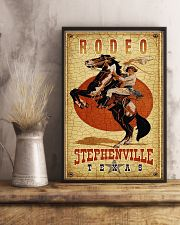Rodeo Stephenville Texas 11x17 Poster lifestyle-poster-3