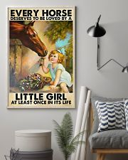 Horse Loved 11x17 Poster lifestyle-poster-1