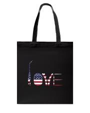 Welder Love Tote Bag thumbnail