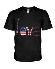 Welder Love V-Neck T-Shirt thumbnail