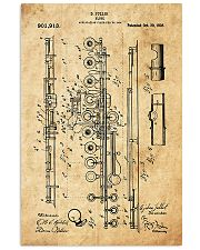Flute Patent 11x17 Poster front