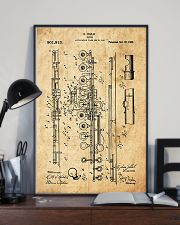 Flute Patent 11x17 Poster lifestyle-poster-2