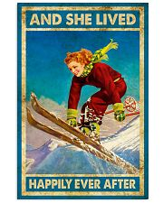 Girl Love Skiing 11x17 Poster front