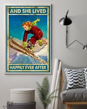 Girl Love Skiing 11x17 Poster lifestyle-poster-1