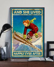 Girl Love Skiing 11x17 Poster lifestyle-poster-2