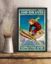 Girl Love Skiing 11x17 Poster lifestyle-poster-3